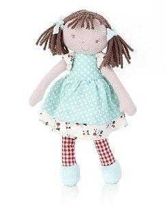 Small Rag Doll Marks & Spencer brown hair