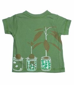 Egg Organic T-shirt-Avocado