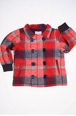 mini rodini flannel coat