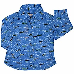 Sky Blue Sierra Nevada Shirt by Quincy