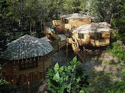Cool Spot: New Treehouses at Center Parcs