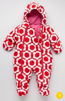 Flower Snowsuit Boden