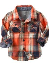 gap check shirt
