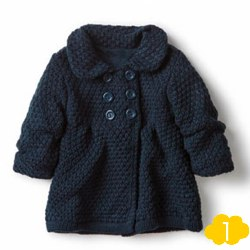 KNIT COAT WITH LINING by Zara Kids