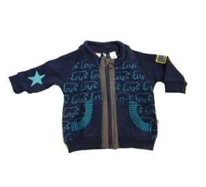 Green Cotton medieval blue starbear fleece jacket (Joachim) - Tootsie and Fudge.jpg
