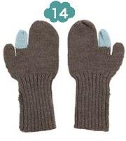 Kicokids Mya wool mittens