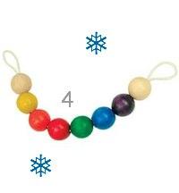 Wooden Ball Pram Chain