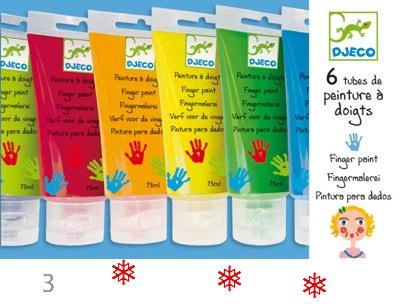 Djeco Finger Paints