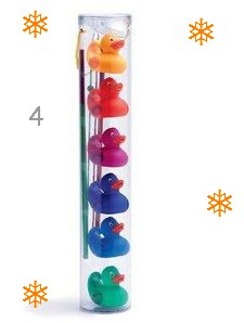 Djeco Rainbow Fishing Ducks