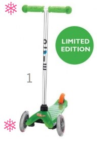 Mini Micro Scooters in Limited Edition Colours