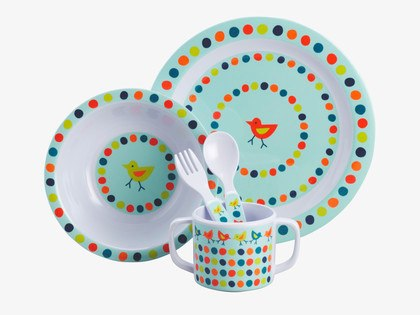 Tweet' melamine dining set from Habitat
