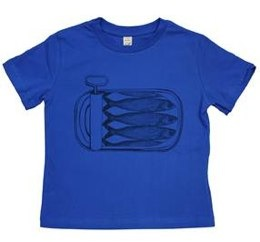 thornback and peel sardines t-shirt