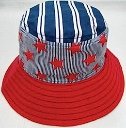 LocoLili Hats Stars Reversible Sun Hat
