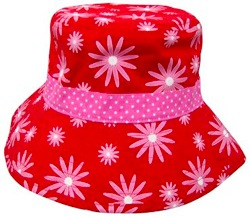 LocoLili Hats Daisies Reversible Sun Hat