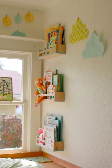 supergail reading Nook with hanging clouds