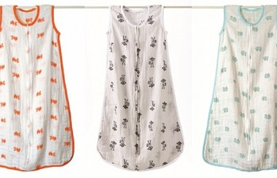 Aden and Anais Muslin Summer Sleeping Bags