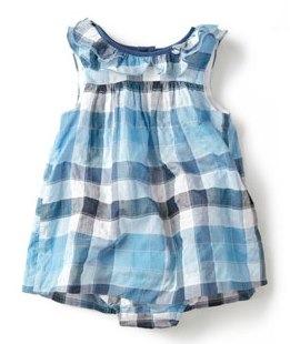 check dress by zara baby