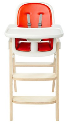 OXO Tot Sprout Highchair, Orange/Birch