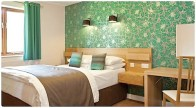 ribby hall bedroom in poppy lodge