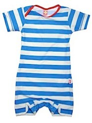 Katvig Blue and While 50% UV Baby Swimsuit