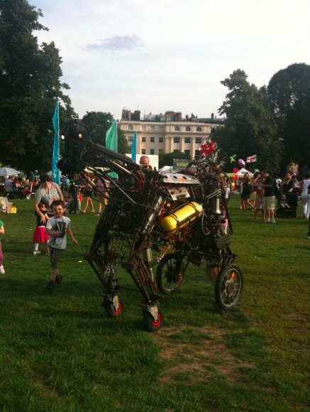 mechanical horse at lollibop