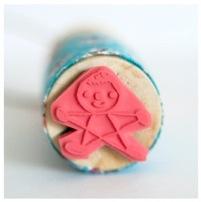 super star stamp necklace by Sarah Neuburger
