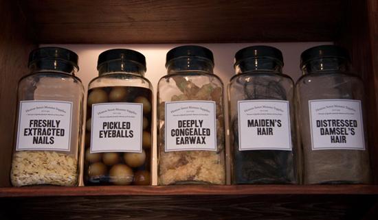 Monster Supplies jars