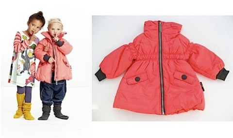 Phister & Philina girls Magnet Mini Coat