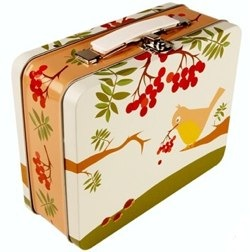 Vintage Bird Storage Case by Blafyre Design