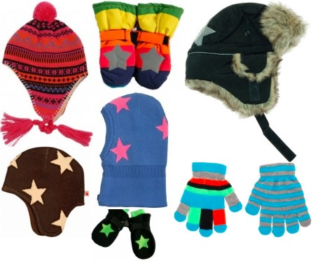 Molo Hats, mittens and gloves for kids