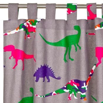 Kids Jurassic Curtain