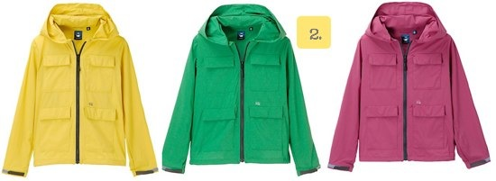 KIDS Uniqlo Undercover Zip Up Parka