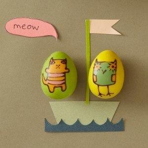 Donna Wilson Rococo Owl & Pussycat Eggs