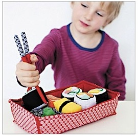 Oskar & Ellen Pretend Play Sushi Set