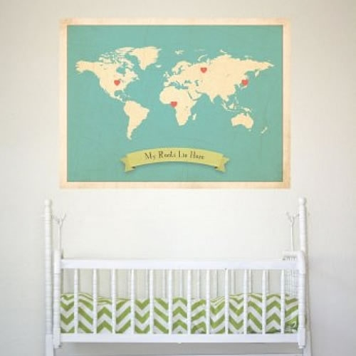 Nice My Roots Map Prints