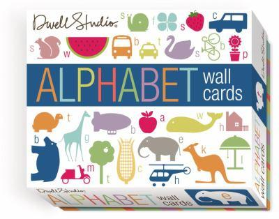 Dwellstudio Alphabet Wall Cards