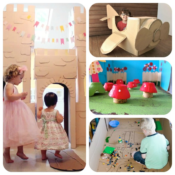 Things to do with a cardboard box