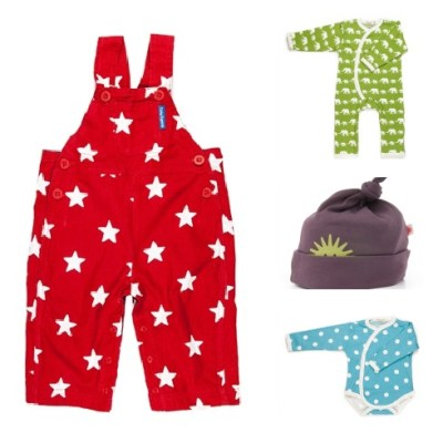 Organic baby clothes with the feel-good factor