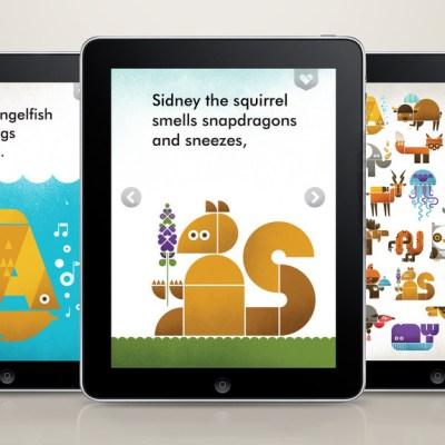 Wee Alphas iPad app