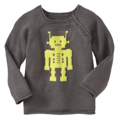 Hot on the high street: Gap neon robot sweater