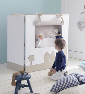 Make your own puppet show