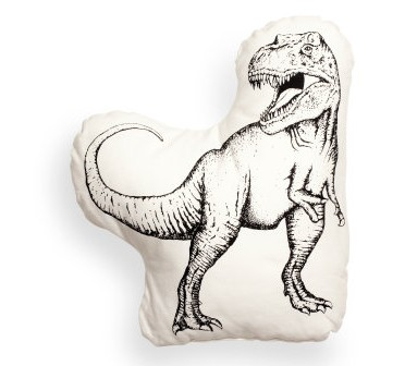 H&M dino cushion