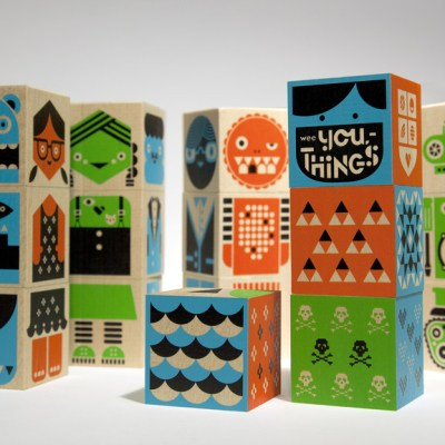 Wee Society wooden blocks