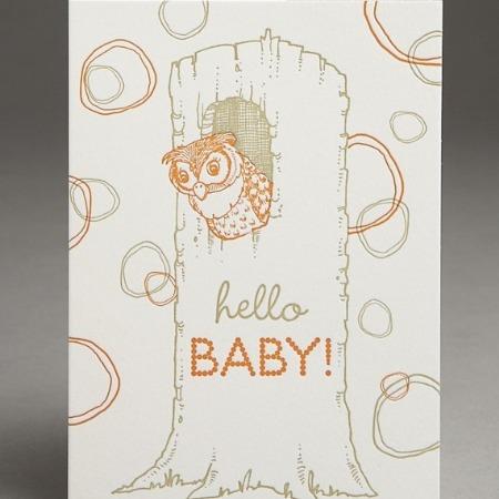 Hello Baby Owl, Pearl & Marmalade