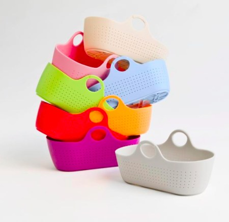 Moba modern moses basket  -gorgeous colourful British moses baskets