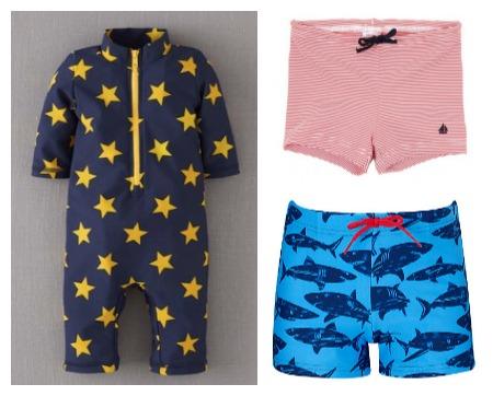 Cool toddler swimwear