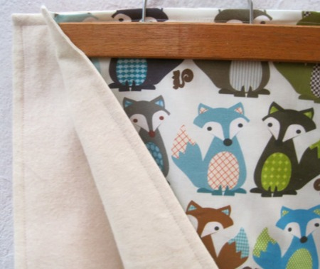 Sewn Natural - Fox Blanket