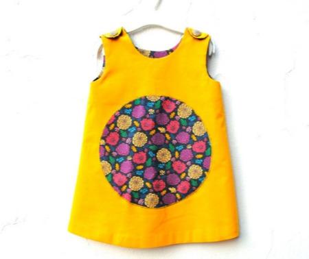 Sewn Natural - Yellow Dress