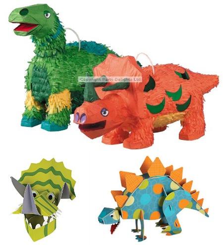 Tescos Dinosaur Party Range