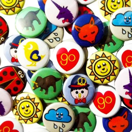 Go Jewellery Badges